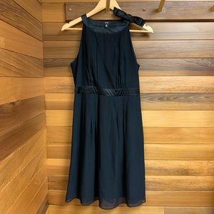 Jacob Silk Chiffon Classic Little Black Dress